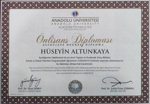 Anadolu Üniversitesi - Emlak Yönetimi
